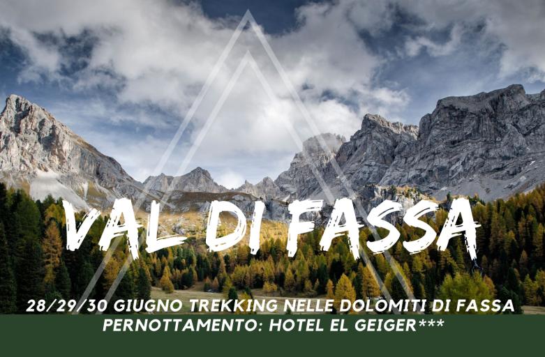 28/29/30 Giugno Val di Fassa